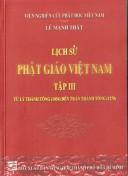 Lịch sử Phật Giáo Việt nam Tập 3 từ Lý Thái Tông -Trần Thánh Tông