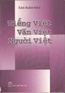 Tiếng Việt Văn Việt Người Việt