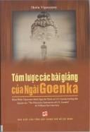 Tóm lược các bài giảng của Ngài Goenka
