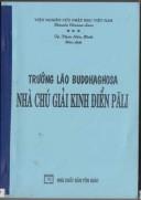 Trưởng Lão Buddghaghosa Nhà chú giải kinh điển Pali