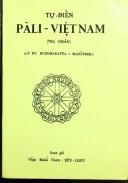 Tự điển Pali - Việt Nam