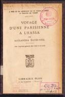 Voyage D`Une Parisienne A Lhassa